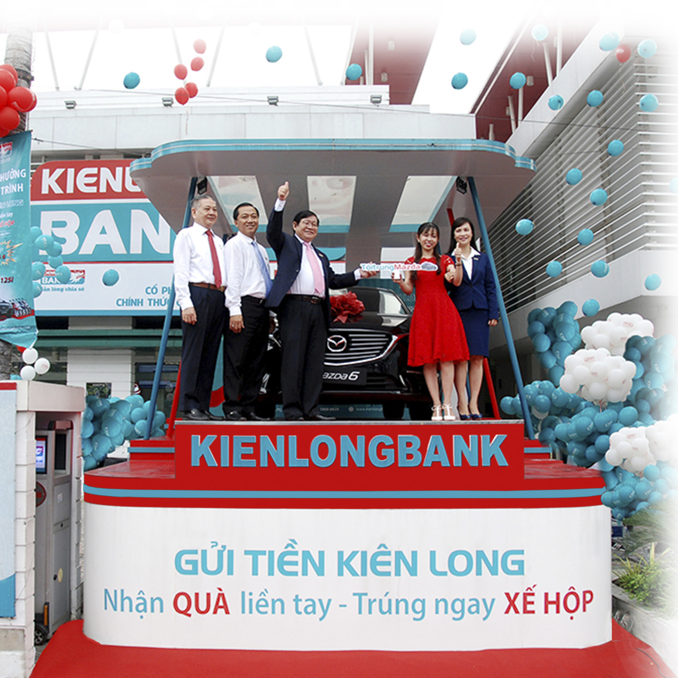 Ms.Chau Van – Customer of Kienlongbank Nam Can transaction office - Ca Mau